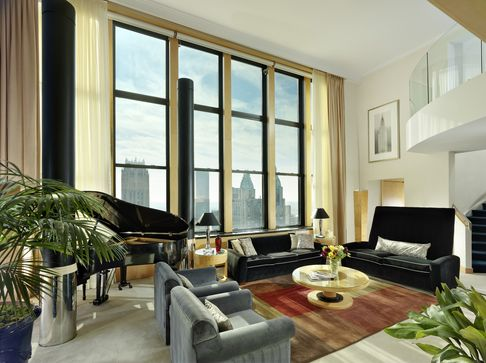 The_New_York_Palace-Triplex_Suite_Living_Room-
