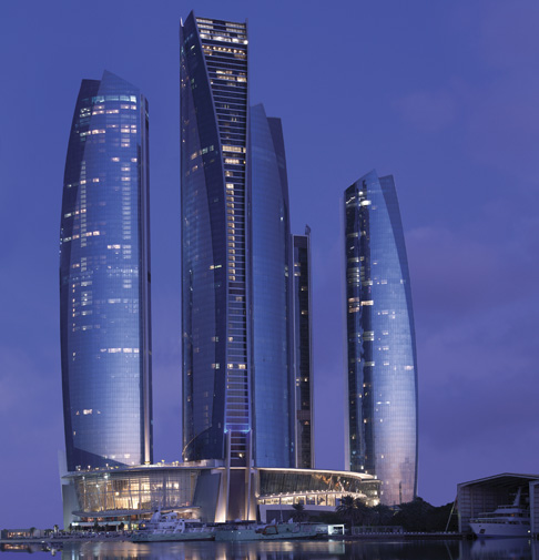Jumeirah at Etihad Towers-The Towers Exterior-1