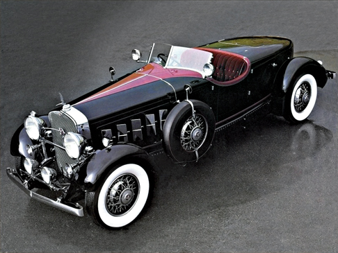 1930 Cadillac V16 Two-Seater by Pinin Farina